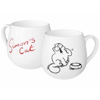 """Simons Cat Kuschelbecher """"Hungrige Katze"""""""