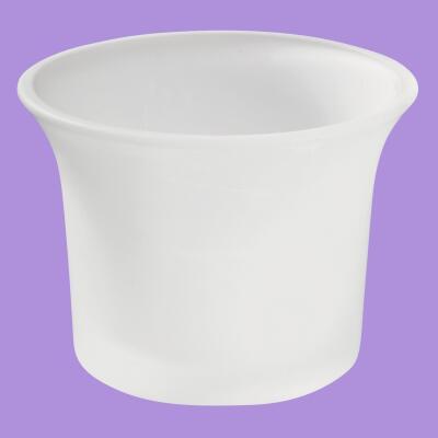 Teelichtglas gefrostet