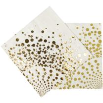 Luxury gold  -  16 Servietten, 33 x 33 cm