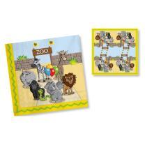 Zoo - Servietten, 20 Stück 33 x 33 cm