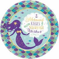 41-teiliges Party-Set Meerjungfrau - mermaid wishes -...