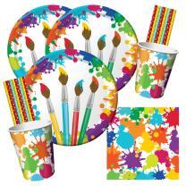 64-teiliges Party-Set Künstler - Art - Maler -...