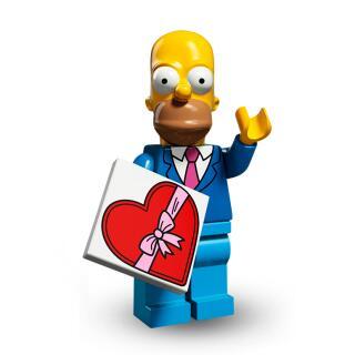 Serie 71009 Lego Simpsons 2 Minifigur  Nr. 1 Homer