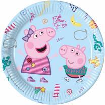 Peppa Wutz - Peppa Pig - 8 Teller - Pappteller 23 cm
