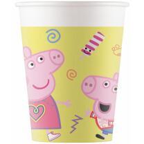 Peppa Wutz - Peppa Pig - 8  Pappbecher  250 ml