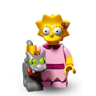 Serie 71009 Lego Simpsons 2 Minifigur  Nr.3  Lisa