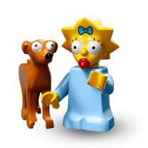 Serie 71009 Lego Simpsons 2 Minifigur  Nr.4 Maggie