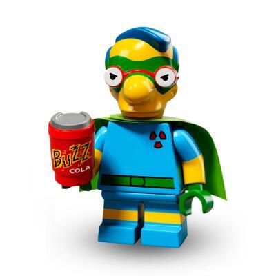 Serie 71009 Lego Simpsons 2 Minifigur  Nr.6 Milhouse