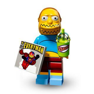 Serie 71009 Lego Simpsons 2 Minifigur  Nr.7 Comicbuchverkäufer