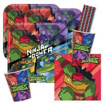 40-teiliges Party-Set Rise of Teenage Mutant Ninja...