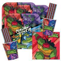 64-teiliges Party-Set Rise of Teenage Mutant Ninja...