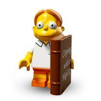 Serie 71009 Lego Simpsons 2 Minifigur  Nr.8 Martin Prince