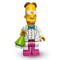 Serie 71009 Lego Simpsons 2 Minifigur  Nr.9 Professor Frink