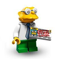 Serie 71009 Lego Simpsons 2 Minifigur  Nr.10 Hans Moleman