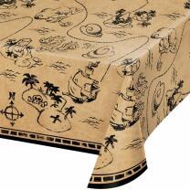 Piratenschiff - Tischdecke 137 x 259 cm aus Kunststoff