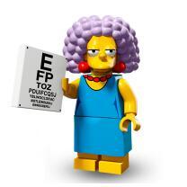 Serie 71009 Lego Simpsons 2 Minifigur  Nr.11 Selma