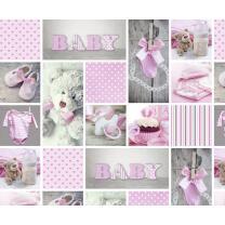 Fotokarton Baby Pauline (01), 300 g/m²,  49,5 cm x...
