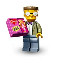Serie 71009 Lego Simpsons 2 Minifigur  Nr.15 Smithers