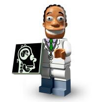 Serie 71009 Lego Simpsons 2 Minifigur  Nr.16 Dr. Hibbert
