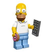 Serie 71005 Lego Simpsons 1 Minifigur  Nr. 1 Homer Simpson