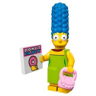 Serie 71005 Lego Simpsons 1 Minifigur  Nr. 3 Marge Simpson