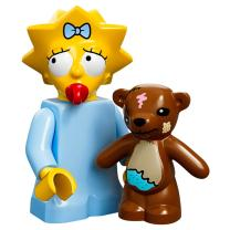 Serie 71005 Lego Simpsons 1 Minifigur  Nr. 5 Maggie Simpson