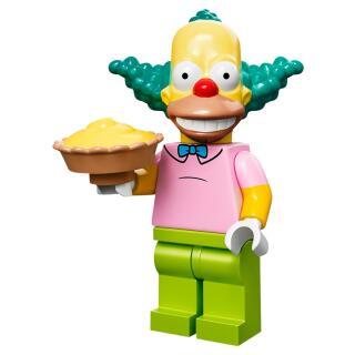 Serie 71005 Lego Simpsons 1 Minifigur  Nr. 8 Krusty  - der Clown