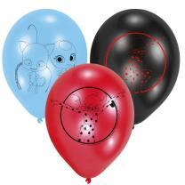 Miraculous Ladybug - Luftballons, 6 Stück
