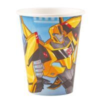 Transformers RID Pappbecher 266 ml,  8 Stück