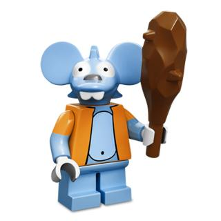 Serie 71005 Lego Simpsons 1 Minifigur  Nr. 13 Itchy