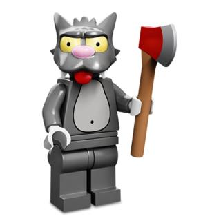 Serie 71005 Lego Simpsons 1 Minifigur  Nr. 14 Scratchy