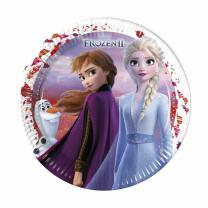 Frozen - Die Eiskönigin 2 - Pappteller 23 cm, 8...