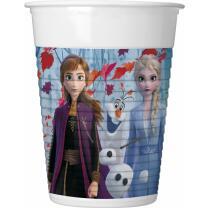 Frozen - Die Eiskönigin 2 - Becher Plastik 0,2 l, 8...
