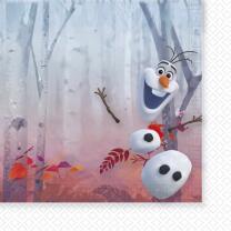 Frozen - Die Eiskönigin 2 - Servietten 33 x 33 cm,...