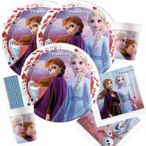 68-teiliges Party Set Frozen - Die Eiskönigin 2 -...