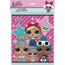 L.O.L. Surprise - Geschenktüten, 8 Stück