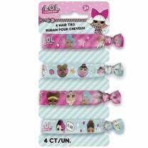 L.O.L. Surprise - Haarbänder - Haargummis, 4 Stück