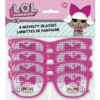 L.O.L. Surprise - Brillen, 4 Stück