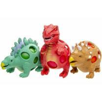 Dinosaurier - Quetschball Dino - 3-fach sortiert