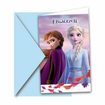 Frozen - Die Eiskönigin 2 - Einladungskarten mit...