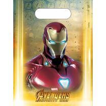 Avengers Infinity War - 6 Partytüten