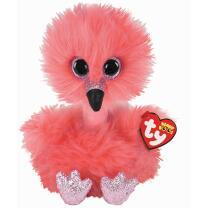 TY Beanie Boos 37401 - Flamingo Franny, 24 cm