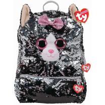 TY Rucksack mit Pailletten 95057 - Katze Kiki 30 cm