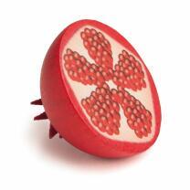 Erzi 11166 - Granatapfel, halb  Kaufladenzubehör