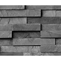 Motiv-Fotokarton Steinwand Schiefer (126), 300 g/m²,...