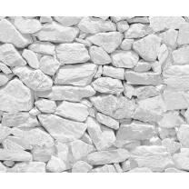 Motiv-Fotokarton Steinwand weiß (127), 300...