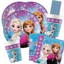 44-teiliges Party Set Frozen die Eiskönigin...