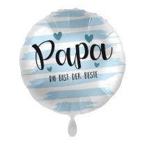 Folienballon 43 cm - Papa du bist der Beste