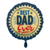 Folienballon 43 cm - Best Dad Ever