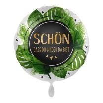Folienballon 43 cm - Schön dass du wieder da bist -...